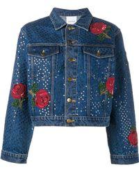 Ashish - Sequin Embellished Denim Jacket - Lyst