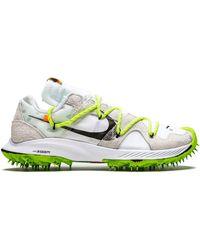 NIKE X OFF-WHITE Zoom Terra Kiger 5 Sneakers - White