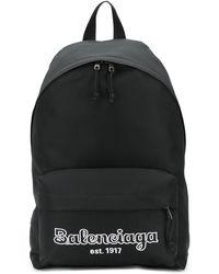 Balenciaga エクスプローラー バックパック - ブラック