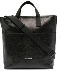 Balenciaga 'Explorer' Shopper - Schwarz