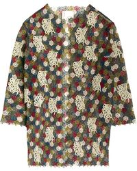 Antonio Marras - Embroidered Oversized Jacket - Lyst