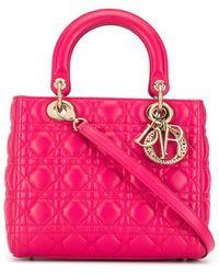 Dior - Lady Dior Cannage 2way ハンドバッグ - Lyst