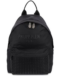 Philipp Plein Stud Detail Backpack - Black
