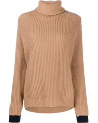 Zadig & Voltaire Chunky Knit Roll-neck Jumper - Multicolour