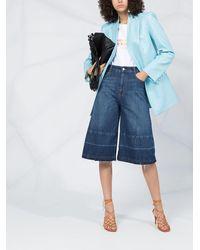Stella McCartney High-waist Culotte Jeans - Blue