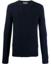 Corneliani ファインニット セーター - ブルー
