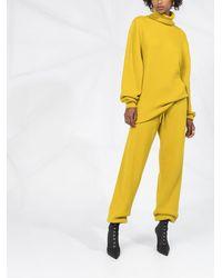 Fenty Pantalones de chándal de punto - Amarillo