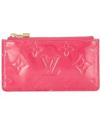 Louis Vuitton Porte-clés Vernis Pochette Cles pre-owned - Rose