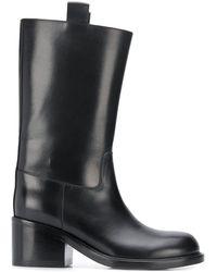A.F.Vandevorst Pull-on Tall Boots - Black