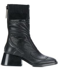 Chloé Bell Hoge Laarzen - Zwart
