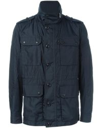 Moncler - Military Style Jacket - Lyst