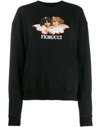 Fiorucci Vintage Angels スウェットシャツ - ブラック