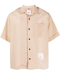 OAMC Id Tag Striped Shirt - Naturel