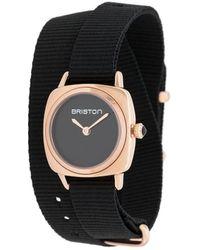 Briston Clubmaster Lady Wrap Watch - Black
