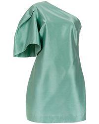 Tufi Duek Asymmetric Dress - グリーン