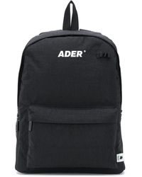 ADER error リバーシブル バックパック - ブラック