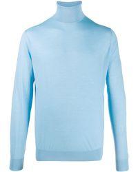 Prada タートルネック セーター - ブルー