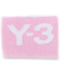 Y-3 - Трикотажные Манжеты С Логотипом - Lyst