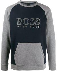 BOSS - カラーブロック スウェットシャツ - Lyst