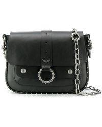 Zadig & Voltaire X Kate Moss Kate Crossbody Bag - Black