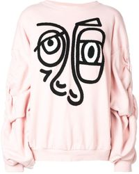 Haculla Relaxed Fit Sweatshirt - Pink