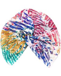 Missoni Stirnband mit abstraktem Print - Blau
