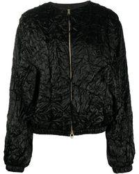 Rochas ボンバージャケット - ブラック