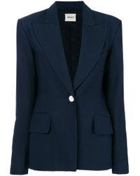 Khaite - Slim-fit Buttoned Blazer - Lyst