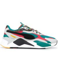PUMA Rs-x Bold Low-top Sneakers - Groen