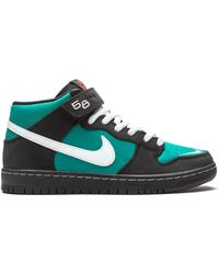 Nike Кроссовки Sb Dunk Mid Pro Iso - Черный