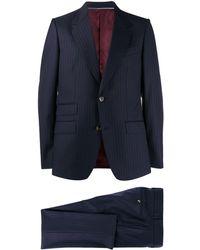 Gucci - ストライプ ツーピーススーツ - Lyst