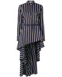 Palmer//Harding - Striped Long Blouse - Lyst