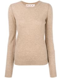 Marni - Fitted Cashmere Sweater - Lyst