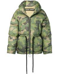 Ienki Ienki - Camouflage Puffer Jacket - Lyst