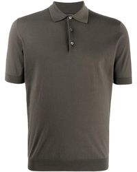Dell'Oglio - ショートスリーブ ポロシャツ - Lyst
