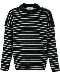 AMI Oversized Crewneck Sweater - Zwart