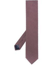 Brioni Галстук С Геометричным Принтом - Многоцветный