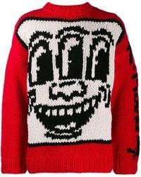 Etudes Studio Keith Haring セーター - レッド