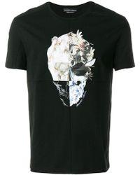 Alexander McQueen - Skull-printed T-shirt - Lyst