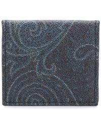 Etro - Graphic Wallet - Lyst
