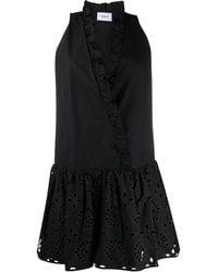 Dondup ラッフルトリム ドレス - ブラック