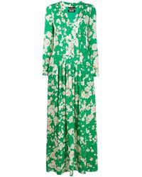 Boutique Moschino フローラル マキシドレス - グリーン