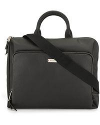 Bally Zip Laptop Case - Black