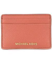 MICHAEL Michael Kors Jet Set カードケース - ピンク