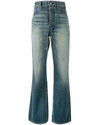 Visvim 'social Sculptress' Jeans - Blue