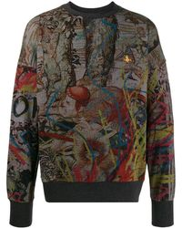 Vivienne Westwood プリント セーター - マルチカラー