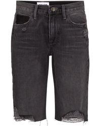 FRAME Denim Shorts - Zwart