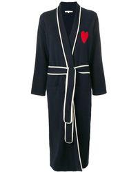 Chinti & Parker Heart Midi Robe - Blue