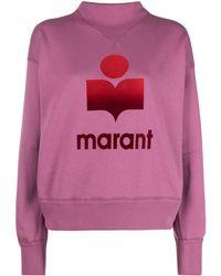 Étoile Isabel Marant Moby ロゴ スウェットシャツ - ピンク