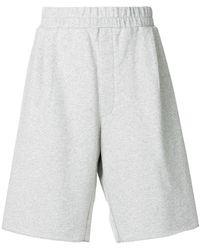 Sunnei - High Waisted Track Shorts - Lyst